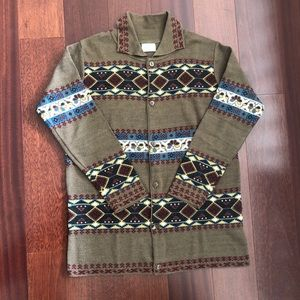 Vintage Benetton button down sweater